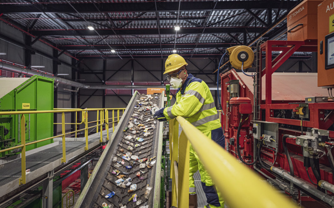 PRESS RELEASE AVR separates raw materials from residual waste with new separation plant
